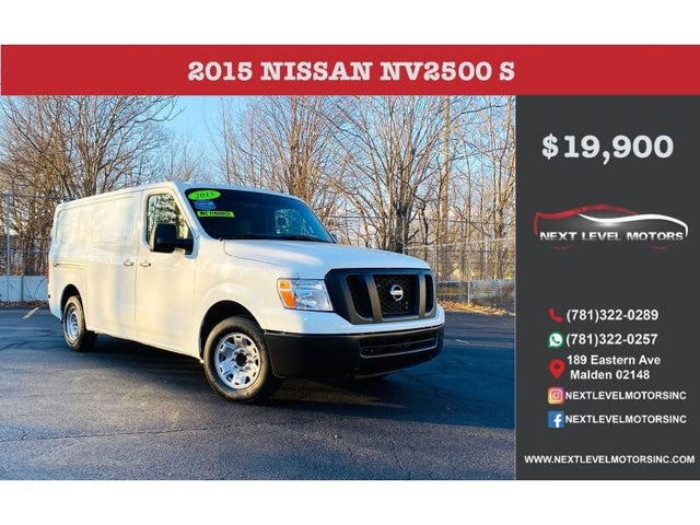 2015 Nissan NV Cargo 2500 HD S with High Roof