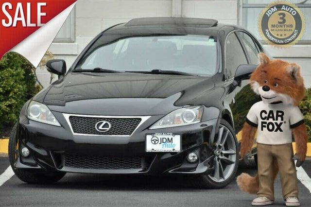 2012 Lexus IS 250 RWD