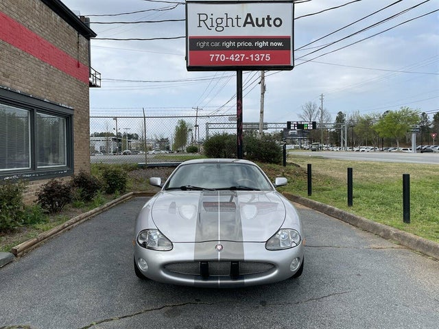 2001 Jaguar XK-Series XKR Coupe RWD