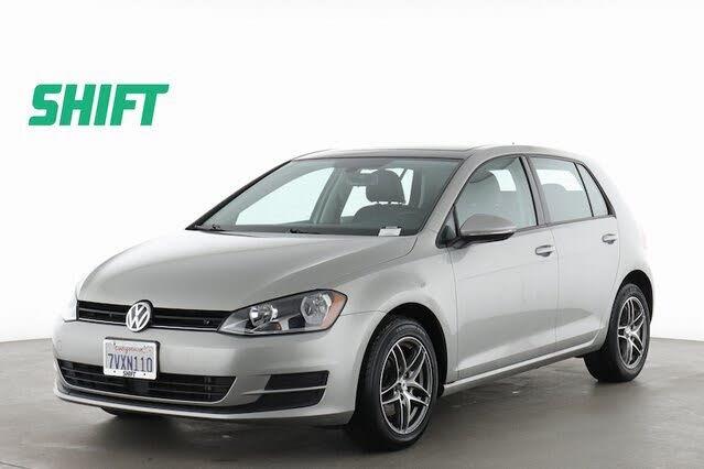 2017 Volkswagen Golf 1.8T Wolfsburg Edition 4-Door FWD