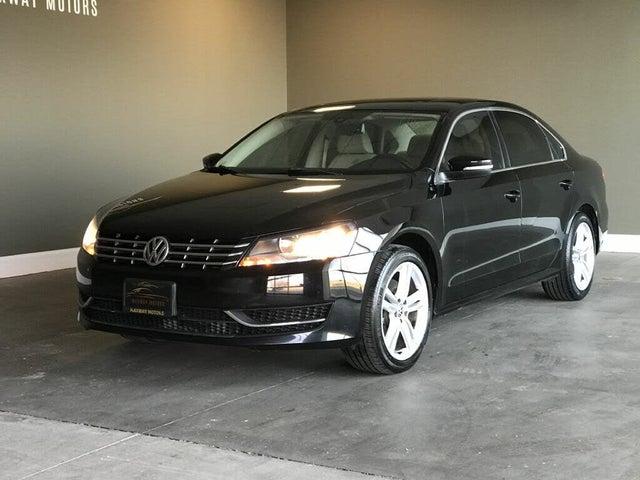 2014 Volkswagen Passat TDI SE with Sunroof