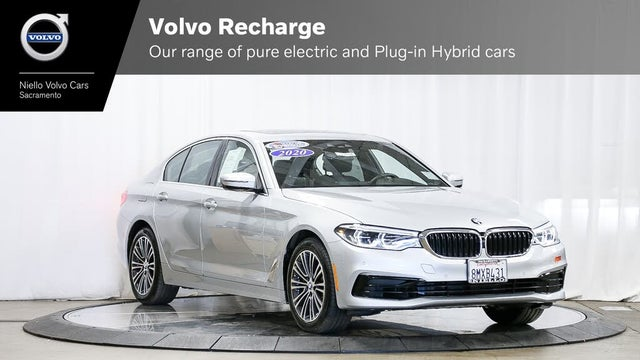 2020 BMW 5 Series 530e Hybrid Plug-in iPerformance Sedan RWD