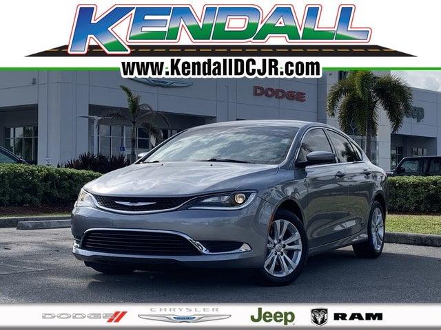 2017 Chrysler 200 Limited Sedan FWD