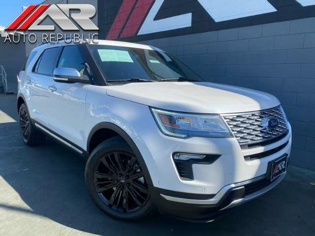 2019 Ford Explorer Platinum AWD