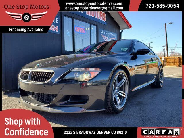 2006 BMW M6 Coupe RWD