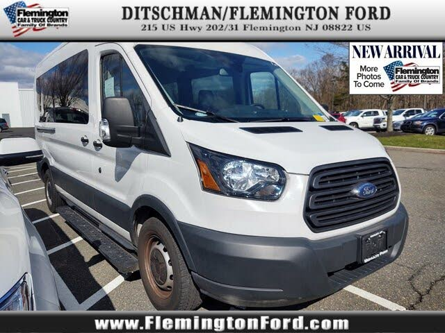 2018 Ford Transit Passenger 350 XL Medium Roof LWB RWD with Sliding Passenger-Side Door