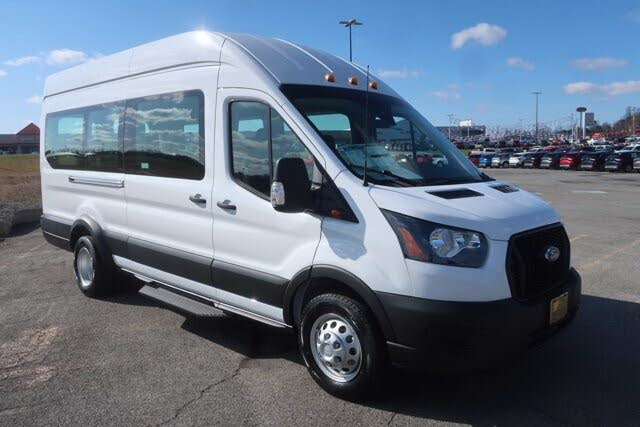2021 Ford Transit Passenger 350 HD XL High Roof Extended LB DRW RWD