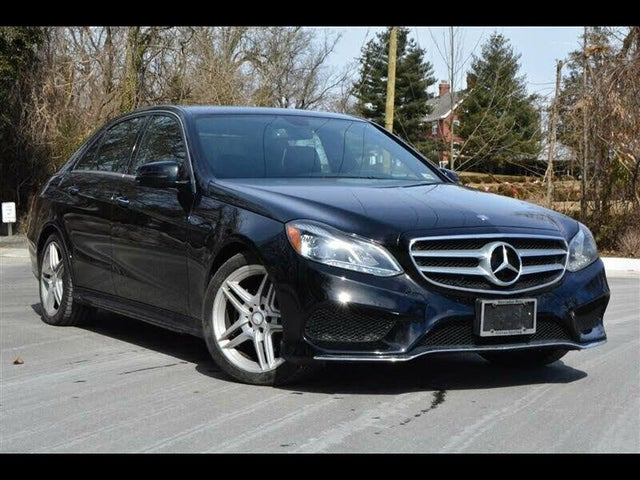 2014 Mercedes-Benz E-Class E 350 Luxury 4MATIC