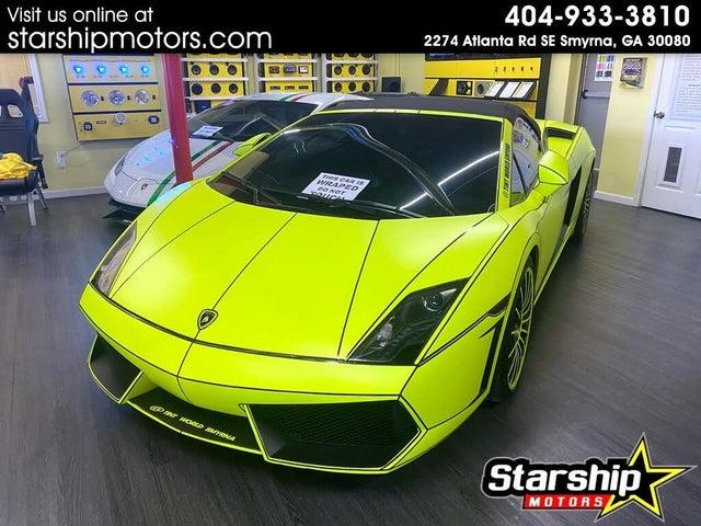 2012 Lamborghini Gallardo LP 550-2 Spyder RWD