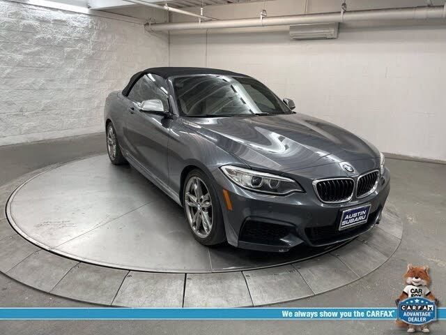2015 BMW 2 Series M235i Convertible RWD