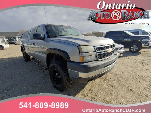 2006 Chevrolet Silverado 2500HD Work Truck Extended Cab LB 4WD