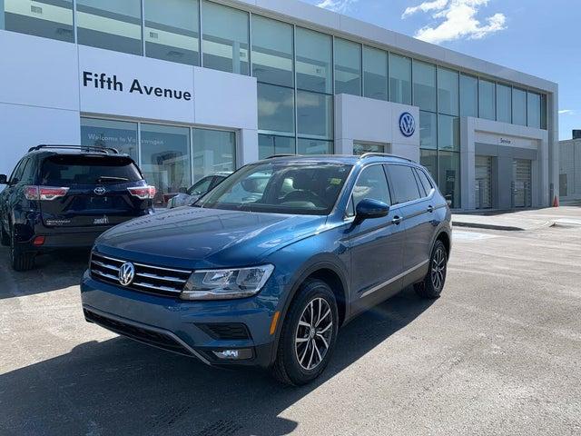 2018 Volkswagen Tiguan Comfortline AWD