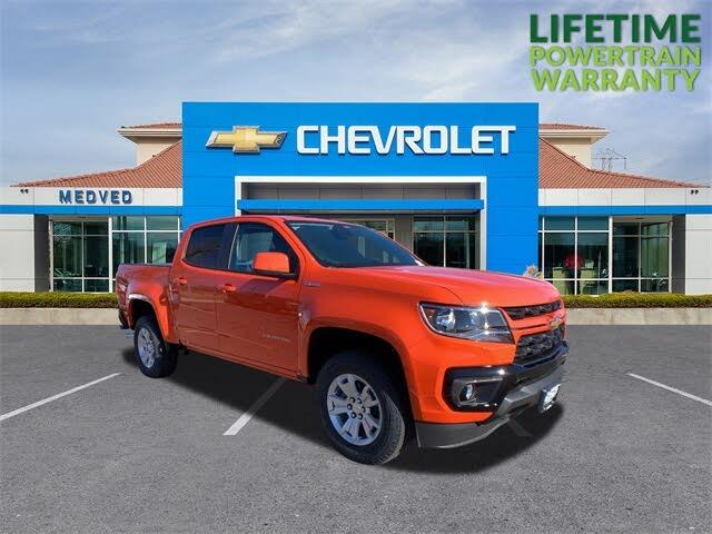 2021 Chevrolet Colorado LT Crew Cab 4WD