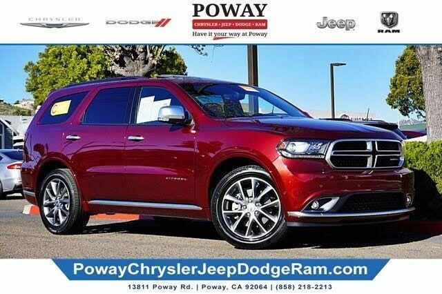 2020 Dodge Durango Citadel RWD