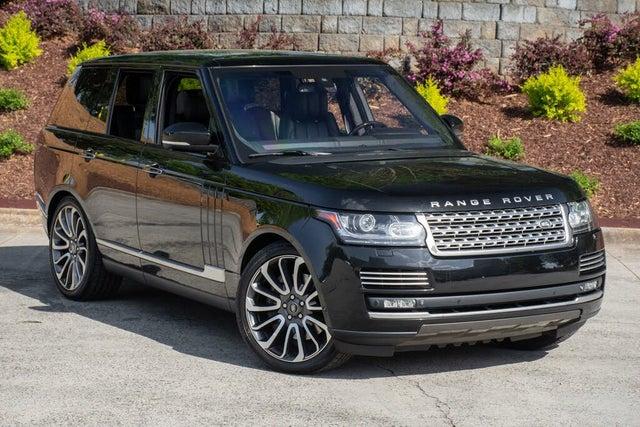 2015 Land Rover Range Rover V8 Autobiography 4WD