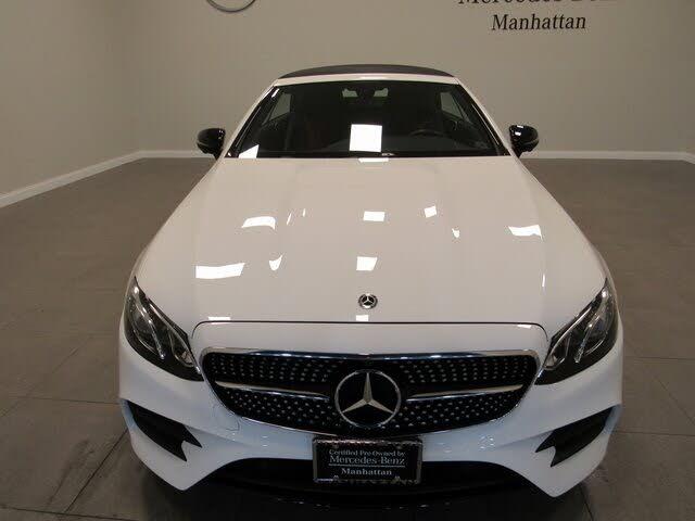 2020 Mercedes-Benz E-Class E 450 4MATIC Cabriolet AWD