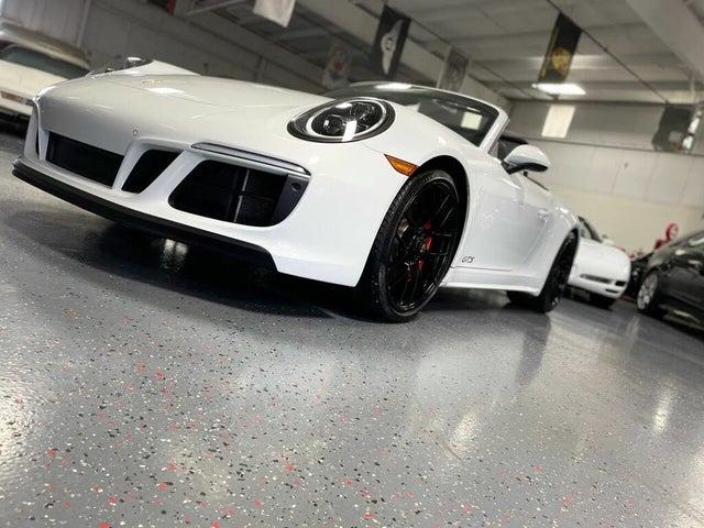2019 Porsche 911 Carrera GTS Cabriolet AWD