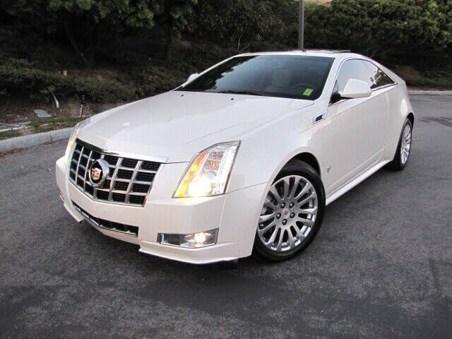 2012 Cadillac CTS Coupe 3.6L Performance AWD
