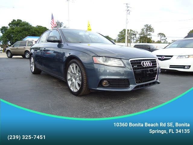 2009 Audi A4 3.2 quattro Premium Plus Sedan AWD