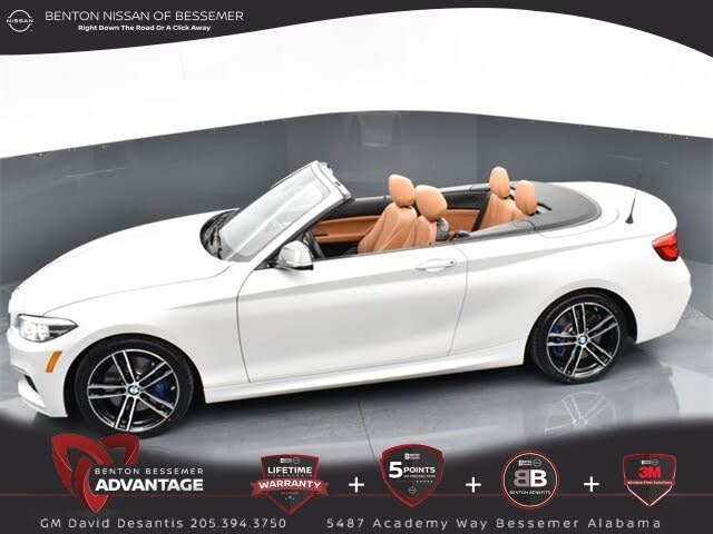 2018 BMW 2 Series M240i Convertible RWD