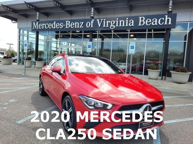2020 Mercedes-Benz CLA-Class CLA 250 FWD