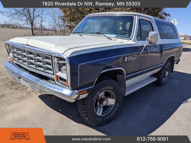 1985 Dodge Ramcharger 150 4WD