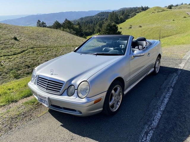 2002 Mercedes-Benz CLK-Class CLK AMG 55 Cabriolet
