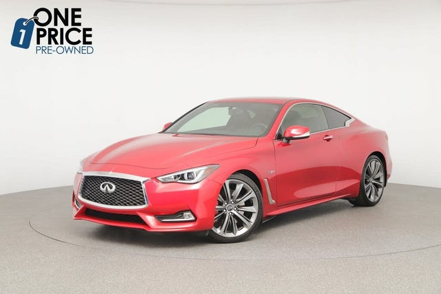 2018 INFINITI Q60 Red Sport 400 Coupe RWD