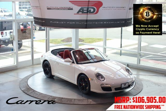 2011 Porsche 911 Carrera Cabriolet RWD