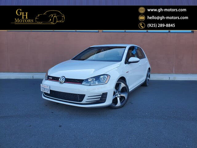 2017 Volkswagen Golf GTI 2.0T S 4-Door FWD