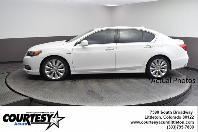 2016 Acura RLX Sport Hybrid SH-AWD with Advance Package