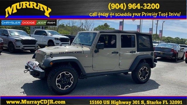 2017 Jeep Wrangler Unlimited Rubicon Hard Rock 4WD