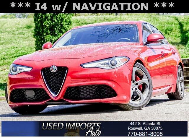 2018 Alfa Romeo Giulia Sport RWD