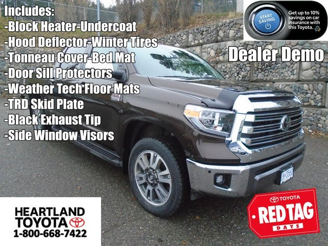 2021 Toyota Tundra 1794 Edition CrewMax 4WD