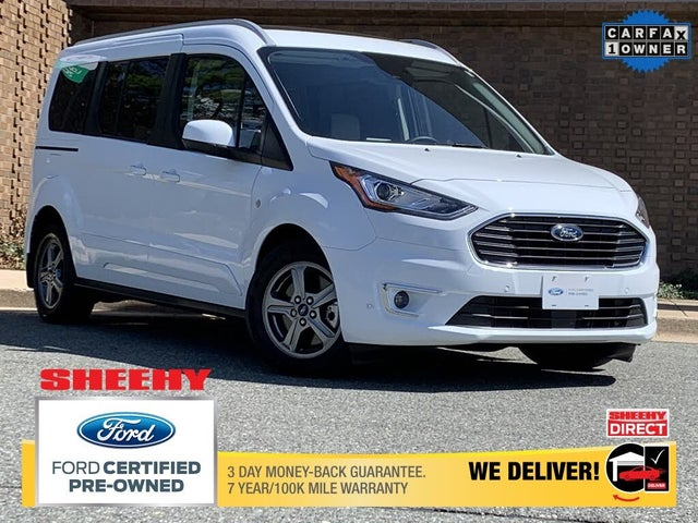 2020 Ford Transit Connect Wagon Titanium LWB FWD with Rear Liftgate