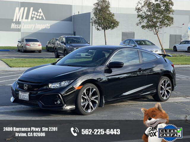 2018 Honda Civic Coupe Si