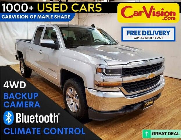 2018 Chevrolet Silverado 1500 LT Double Cab 4WD