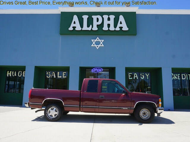1999 Chevrolet C/K 1500 LS Extended Cab RWD