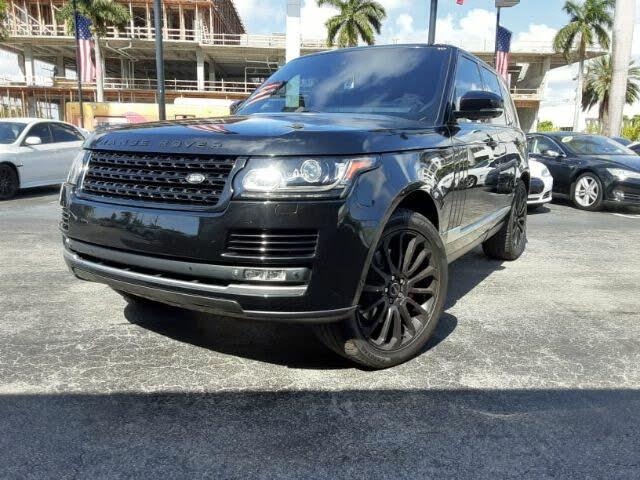 2013 Land Rover Range Rover SC 4WD