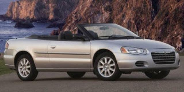 2004 Chrysler Sebring LXi Convertible FWD