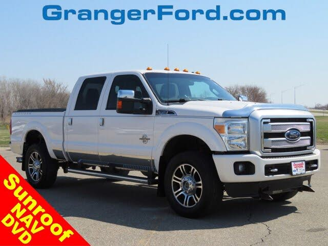 2014 Ford F-350 Super Duty Platinum Crew Cab 4WD