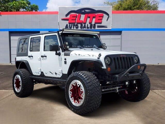 2012 Jeep Wrangler Unlimited Sport 4WD 4WD