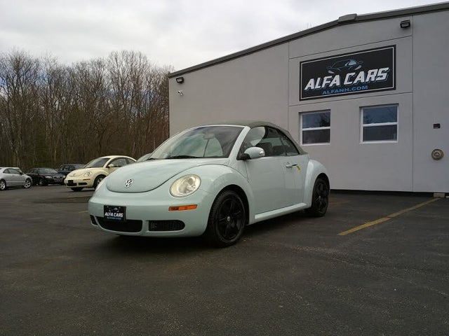 2006 Volkswagen Beetle 2.5L Convertible