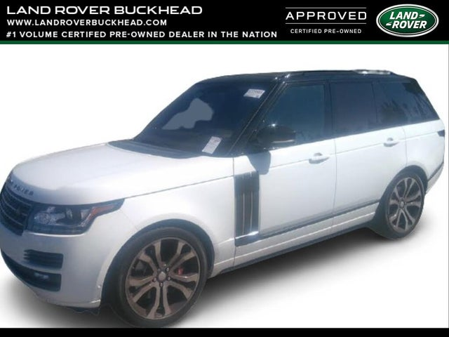 2017 Land Rover Range Rover V8 SVAutobiography Dynamic 4WD