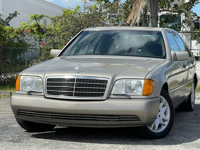 1992 Mercedes-Benz 600-Class 4 Dr 600SEL Sedan