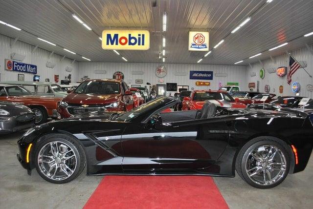 2014 Chevrolet Corvette Stingray Z51 3LT Convertible RWD