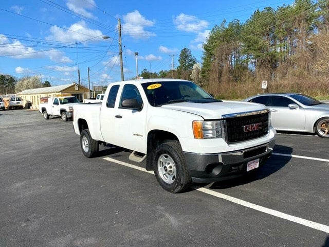 2012 GMC Sierra 2500HD Work Truck Ext. Cab SB 4WD