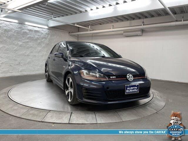 2016 Volkswagen GTI 2.0T S 4-Door FWD