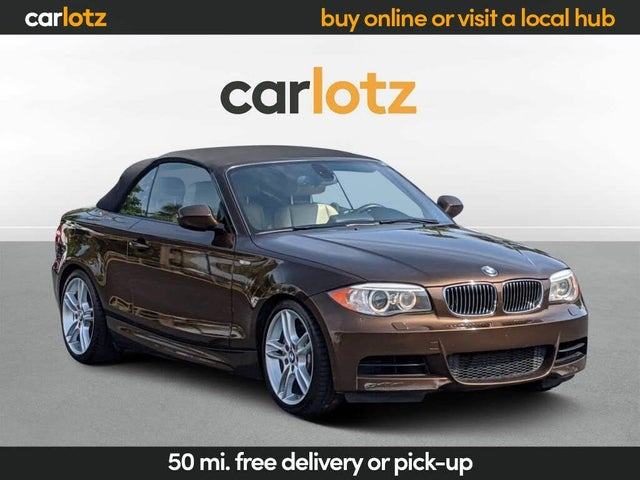 2012 BMW 1 Series 135i Convertible RWD