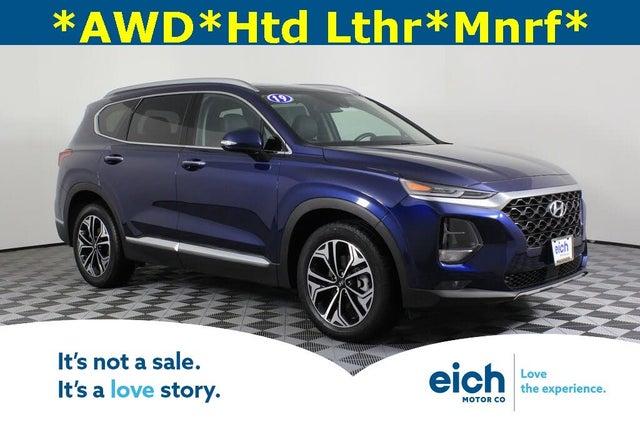 2019 Hyundai Santa Fe 2.0T Limited AWD